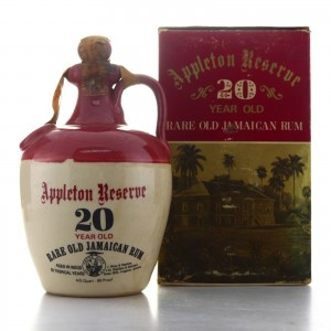 Appleton Reserve 20 Year Old Rum Decanter 1960s