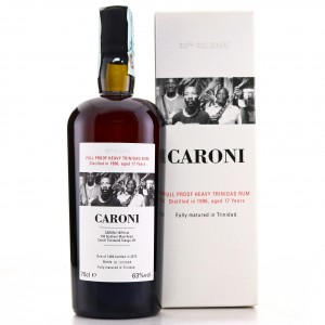 Caroni 1996 Velier 17 Year Old Full Proof Heavy