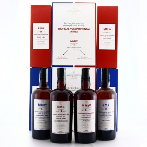 Monymusk Velier Tropical vs Continental Aging 4 x 70cl / E&A Scheer