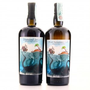 Port Mourant 2005 12 Year Old & Diamond 2003 14 Year Old Milan Rum Festival 2 x 70cl / Bar Metro