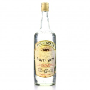 Four Bells White Rum 1 Litre 1970s