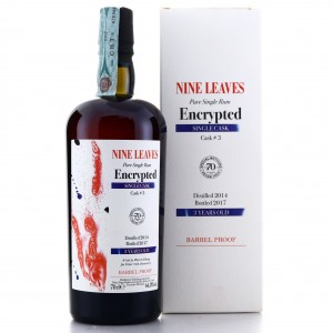 Nine Leaves 2014 Velier 3 Year Old / 70th Anniversary