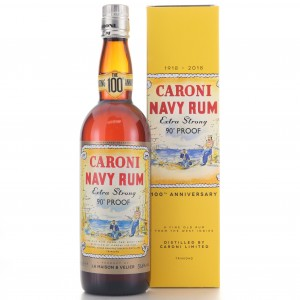 Caroni Navy Rum La Maison and Velier / 100th Anniversary