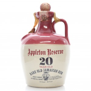Appleton Reserve 20 Year Old Rum Decanter 1960s - Collection Only