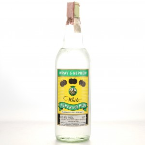 Wray and Nephew White Overproof 1 Litre 1960s