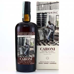 Caroni 1996 Velier 23 Year Old Full Proof Heavy / David 'Sarge' Charran