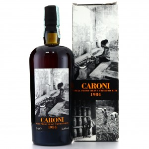 Caroni 1984 Velier 22 Year Old Full Proof Heavy