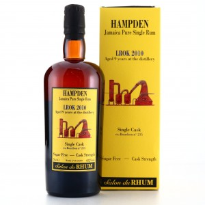 Hampden LROK 2010 Habitation Velier 9 Year Old Single Cask / Salon du Rhum