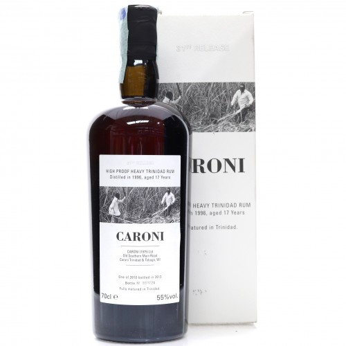 Caroni 1996 Velier 17 Year Old High Proof Heavy